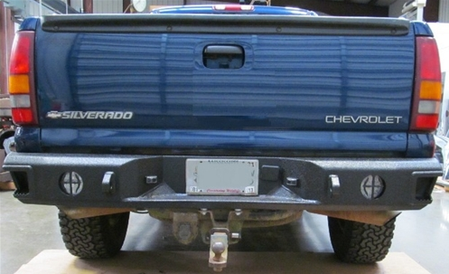 Hammerhead 600-56-0120 Rear Bumper without Sensors Chevy Silverado 1500 1999-2006 Step Side