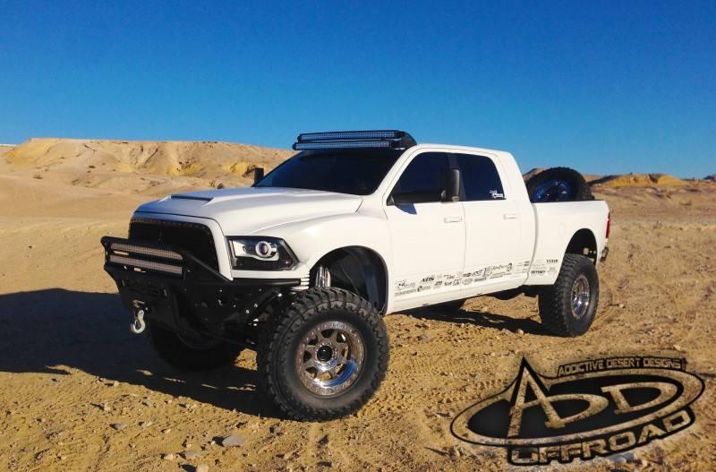 F on Dodge Ram Lifted