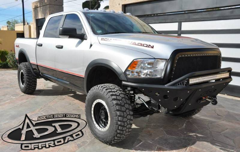 Add F513352480103 Stealth Front Bumper Dodge Ram 2500 3500