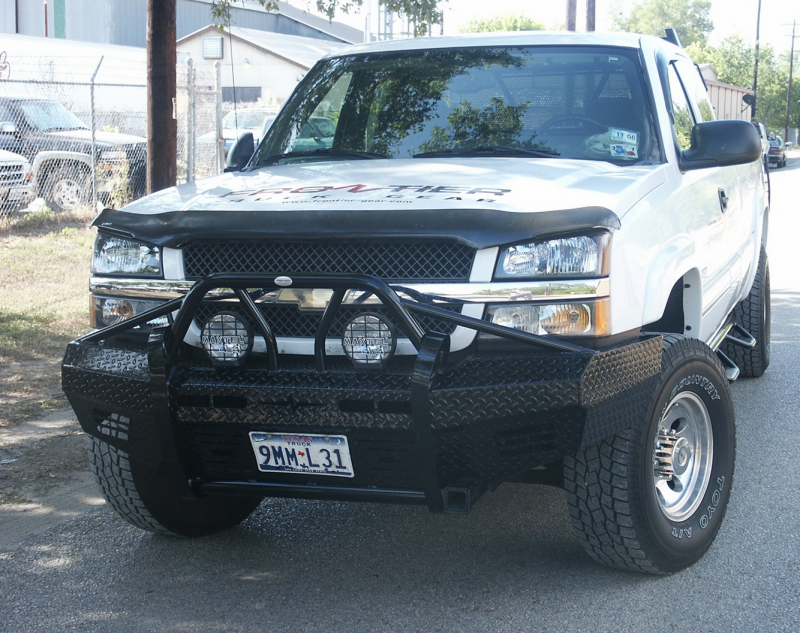Chevy Silverado For Sale >> Frontier Gear 600-20-3009 Xtreme Front Bumper Chevy 1500/1500HD/2500LD/Avalanche 2003-2006