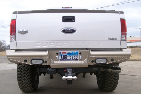 Traditional Rear Bumper - Ford
