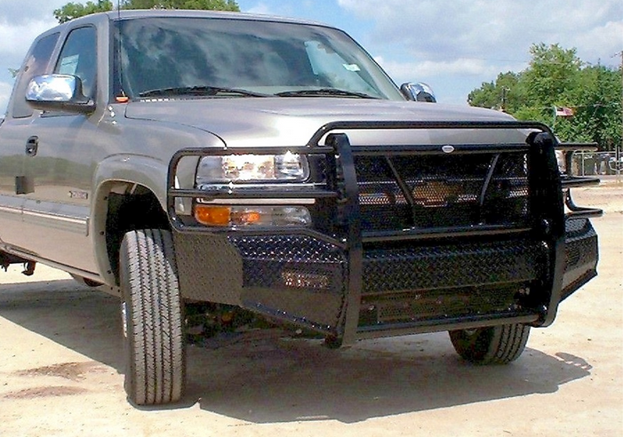 Frontier Gear 300 20 1005 Front Bumper Chevy 2500hd 3500