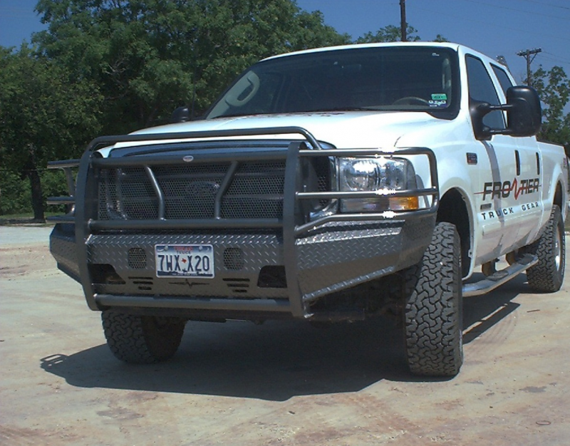 King Ranch Ford >> Frontier Gear 300-19-9005 Front Bumper Ford F250/F350 1999 ...