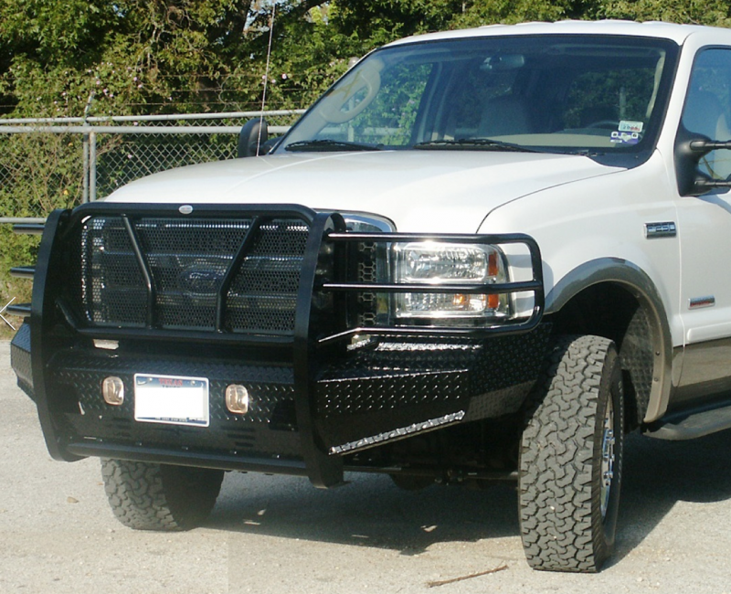 2007 Toyota Tacoma For Sale >> Frontier 300-10-5005 Front Bumper Ford F250/F350 2005-2007