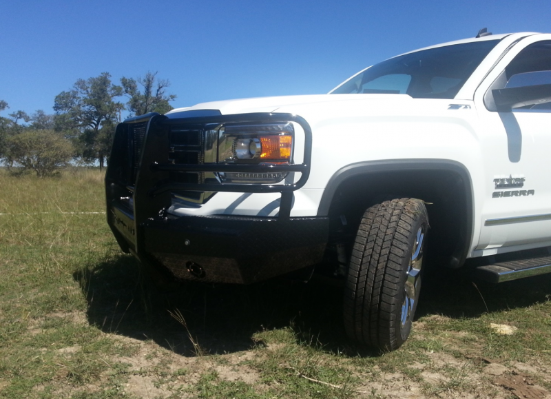 2015 Toyota 4Runner For Sale >> Frontier Gear 300-31-4008 Front Bumper Replacement GMC ...
