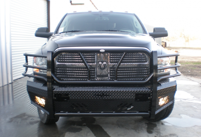 2017 Dodge 3500 >> Frontier Gear 300-41-0006 Front Bumper Replacements Dodge 2500/3500 (2010-2018)