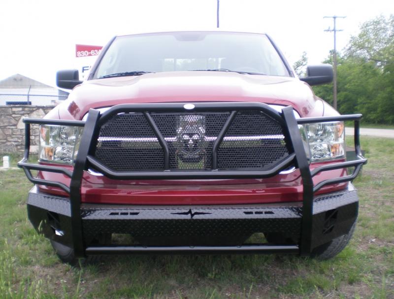 Frontier Gear 300 41 3004 Front Bumper Dodge Ram 1500 2013
