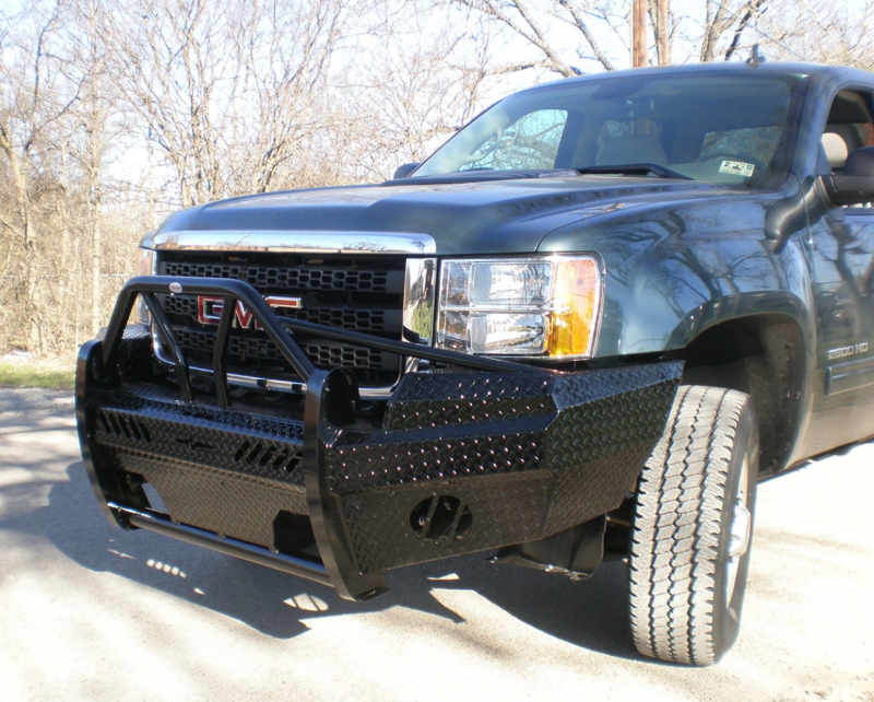 Toyota Tundra Front Bumper >> Frontier 600-31-1005 Xtreme Front Bumper GMC Sierra 2500HD/3500 2011-2014