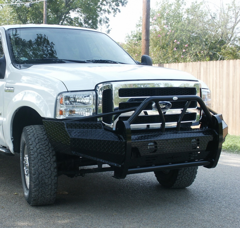 2007 Ford F350 King Ranch For Sale >> Frontier 600-10-5005 Xtreme Front Bumper Ford F250/F350 2005-2007