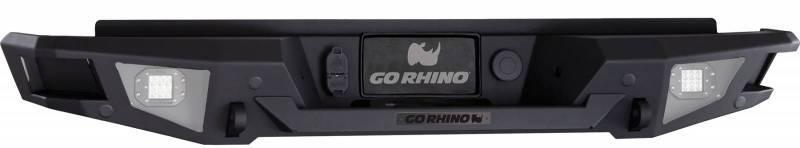 Go Rhino Br20 Dodge Ram 1500 Rear Bumper 2013 2018
