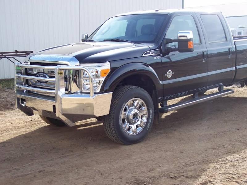 Truck Defender Standard Aluminum Front Bumper Ford F250 ...