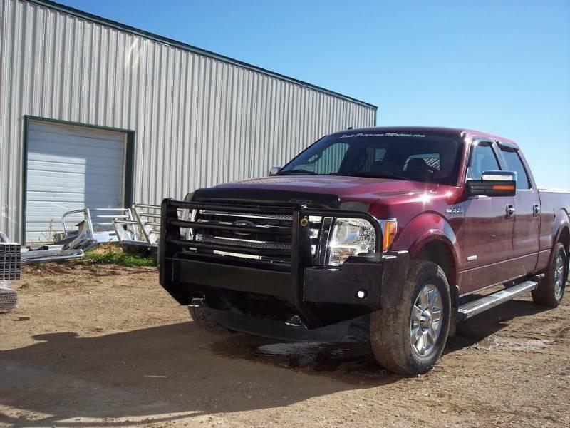 F250 King Ranch For Sale >> Truck Defender Standard Aluminum Front Bumper Ford F250 ...
