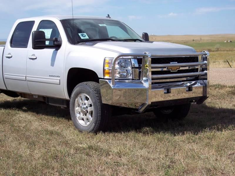 Truck Defender Aluminum Front Bumper Chevy Silverado ...