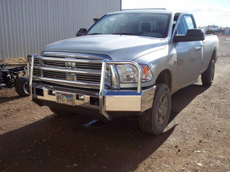 Truck Defender Aluminum Front Bumper Dodge Ram 2500 3500