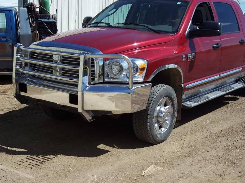 F on Dodge 1500 Front Bumper