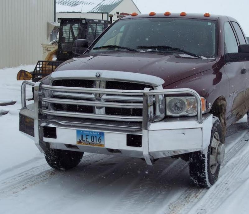 Truck Defender Aluminum Front Bumper Dodge Ram 1500 2002 2005