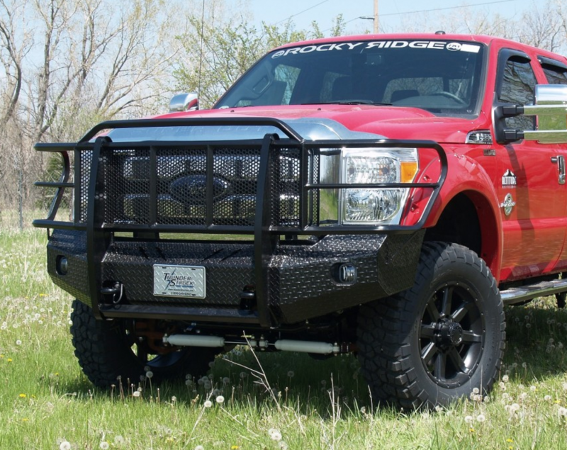 thunderstruck fsd08 200 elite front bumper 2008 2010 ford f250 f350. Black Bedroom Furniture Sets. Home Design Ideas