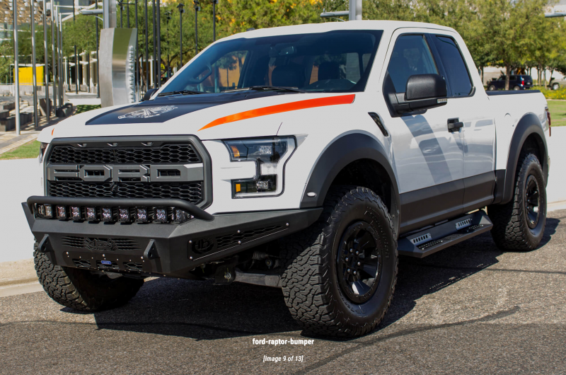 Add F117432860103 Honeybadger Front Bumper Ford Raptor