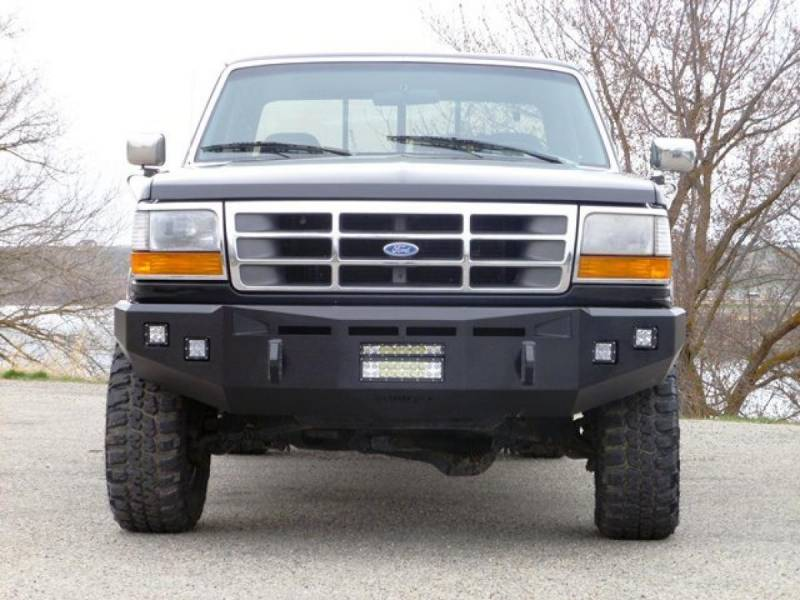 Fusion 9397fordfb Front Bumper Ford F250 F350 1993 1997