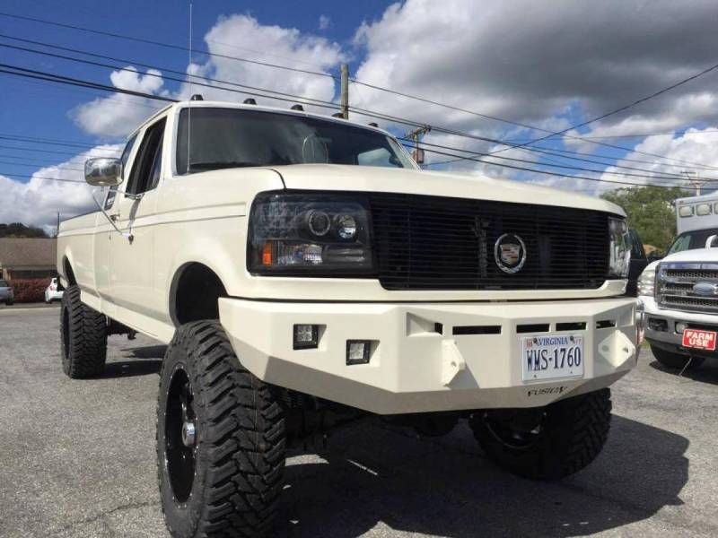 Fusion 9397FORDFB Front Bumper Ford F250/F350 1993-1997
