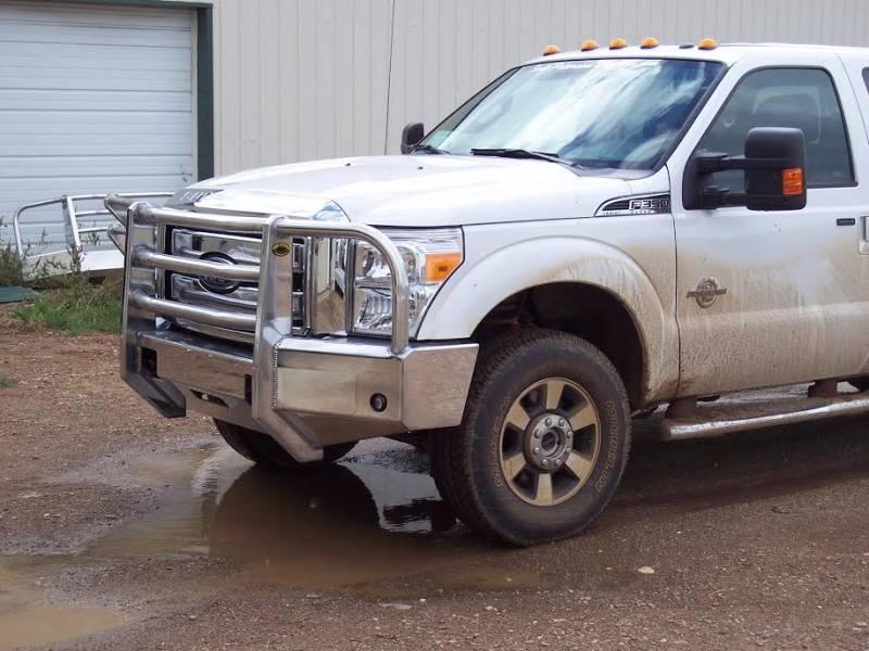 Truck Defender Aluminum Front Bumper Ford F250/F350 Super ...
