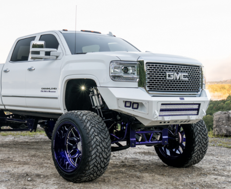 Bodyguard A2lfbg152x Low Profile Base Front Bumper Gmc