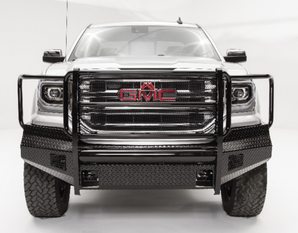 Fab Fours Black Steel - GMC Sierra 1500 2016-2018