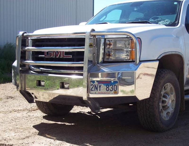 truck defender aluminum front bumper gmc 2500hd 3500 2011 2014. Black Bedroom Furniture Sets. Home Design Ideas