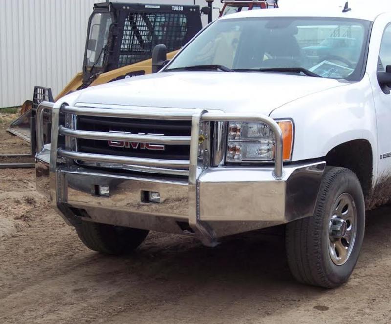 Truck Defender Aluminum Front Bumper Gmc 2500hd 3500 2007 2010