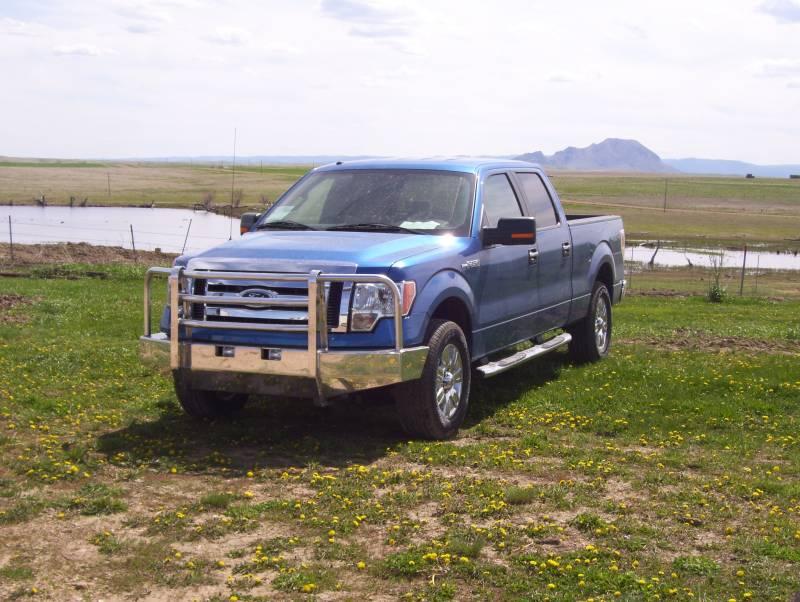 Truck Defender Aluminum Front Bumper Ford F150 2004 2008