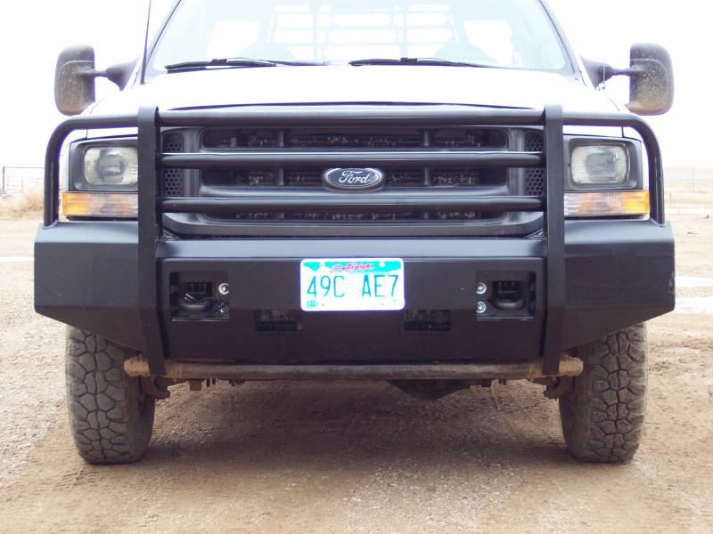 F250 King Ranch For Sale >> Truck Defender Aluminum Front Bumper Ford F250/F350 Super ...