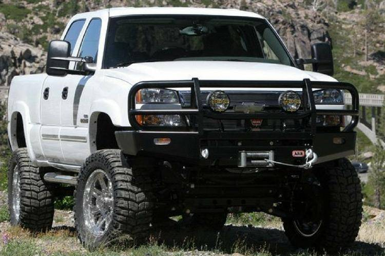 Chevy Truck Accessories Superstore >> ARB 4x4 Accessories 3462010 Front Deluxe Bull Bar Winch ...