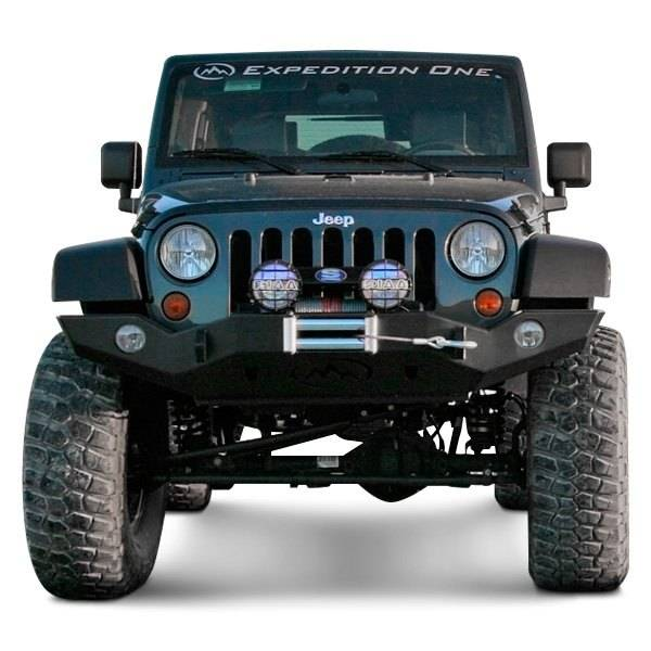 Expedition One   Expedition One JKFB100 Trail Series Full Width Front Bumper  Base Jeep Wrangler JK