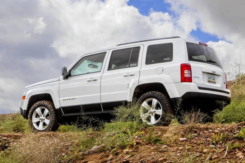 Lifted Jeep Patriot >> Daystar Kj09169bk 1 5 Lift Jeep Patriot