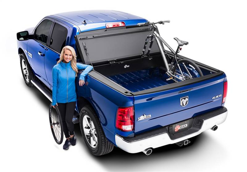 Bakflip Mx4 Review >> BAK Industries 448204 BAKFlip MX4 Hard Folding Truck Bed Cover - Aftermarket Bumpers & Bumper ...
