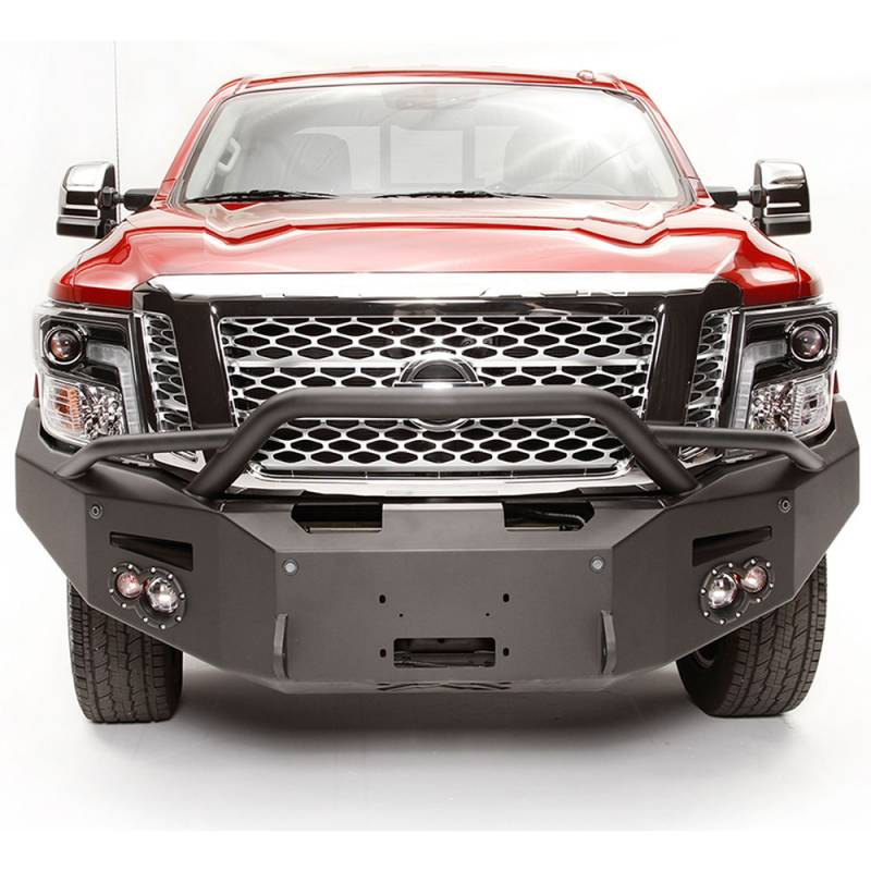 Fab Fours NT16-F3752-1 Winch Front Bumper With Pre-Runner