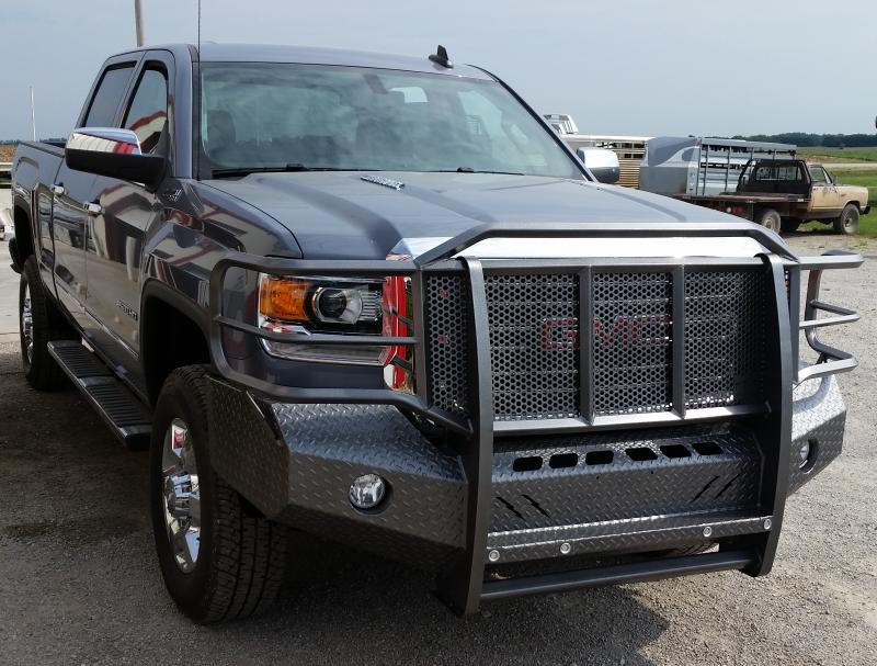 thunderstruck ghd15200 elite front bumper gmc sierra