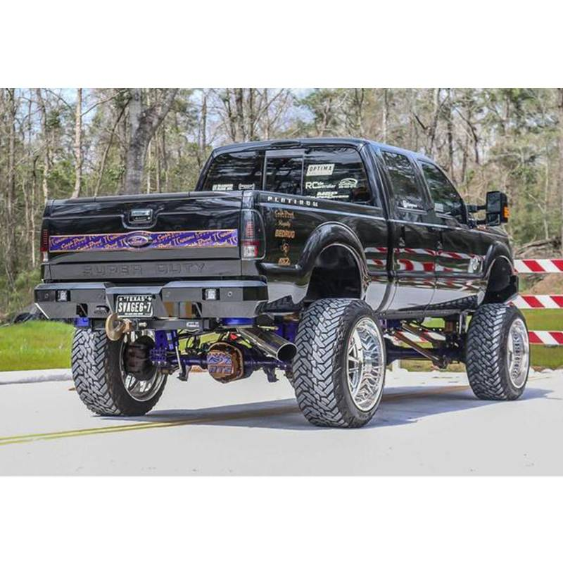 Chrome BUMPERS THAT DELIVER FO1105122 Steel Rear Right RH Bumper End for 2008-2016 Ford Super Duty F-250 F-350 08-16