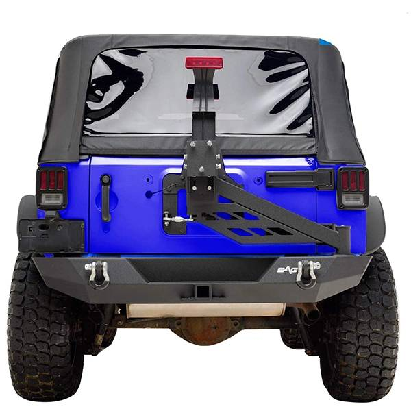 Exterior Accessories - Tire Carrier and Components