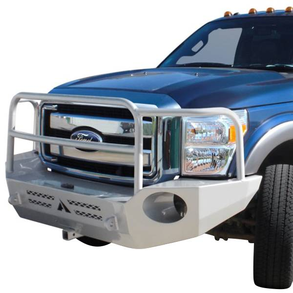 Truck Bumpers - Aluminess