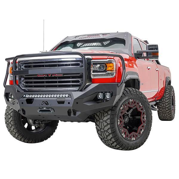 Truck Bumpers - Fab Fours Matrix