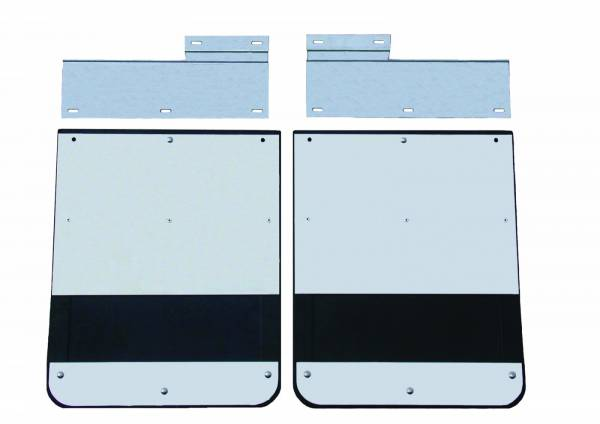 GO Industries - GMC Truck Stainless Steel Mud Flaps