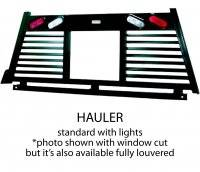 Fully Louvered - Lighted