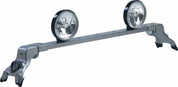Deluxe Rota Light Bar - Deluxe Rota Light Bar in Titanium Silver Powder Coat