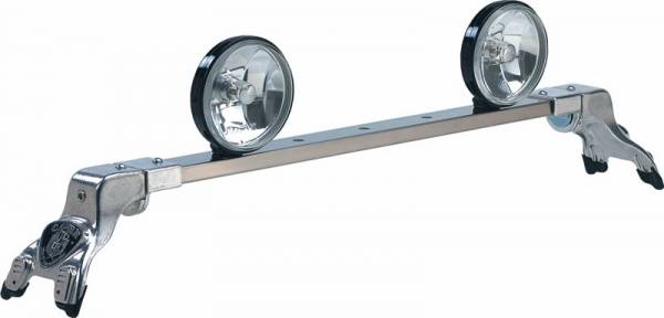 Deluxe Rota Light Bar in Bright Anodized - Mercury
