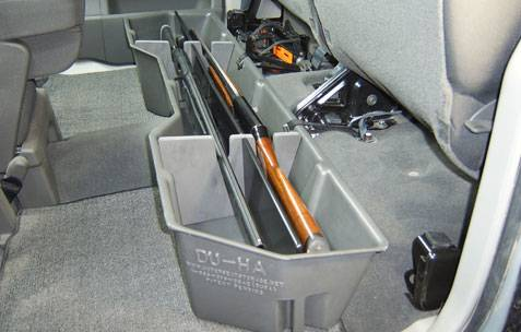 Underseat Storage / Gun Case - Nissan
