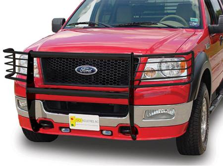 Knock Down Headlight Guard Attachments - Ford Trucks