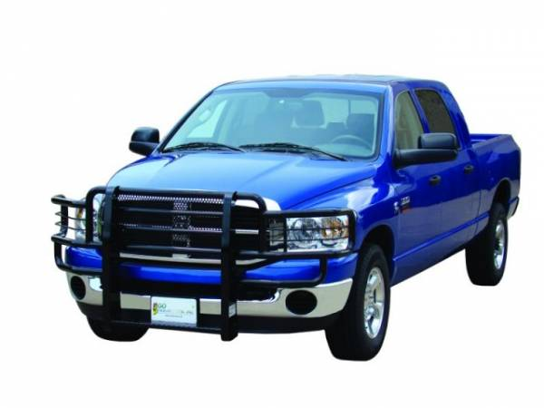 Rancher Grille Guards for GMC Trucks - Rancher Grille Guards in Black