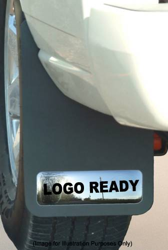 Logo Ready Mud Guards - Cadillac