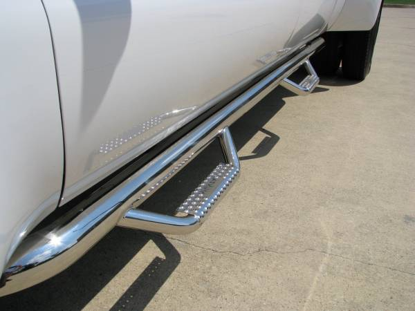 N Fab Stainless Steel Nerf steps - Chevy/GMC